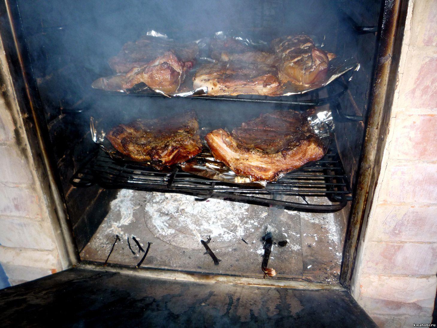 уличная печь с мангалом и коптильней сало горячего копчения уличная печь с мангалом и коптильней