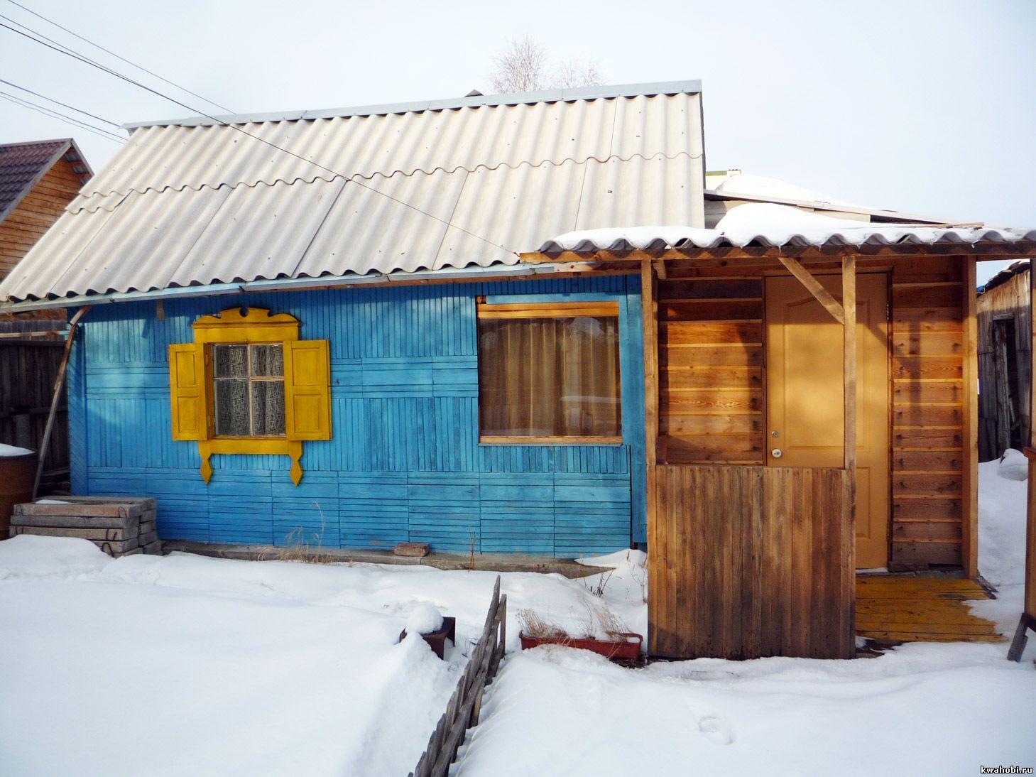 старый садовый домик до отделки сайдингом