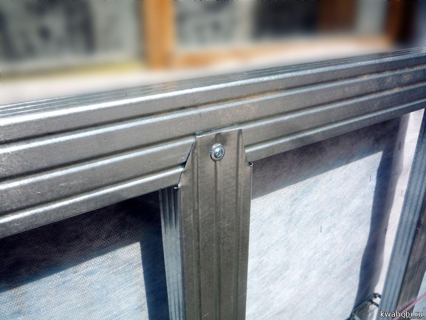 Установка сайдинга на металлический профиль своими руками 12
