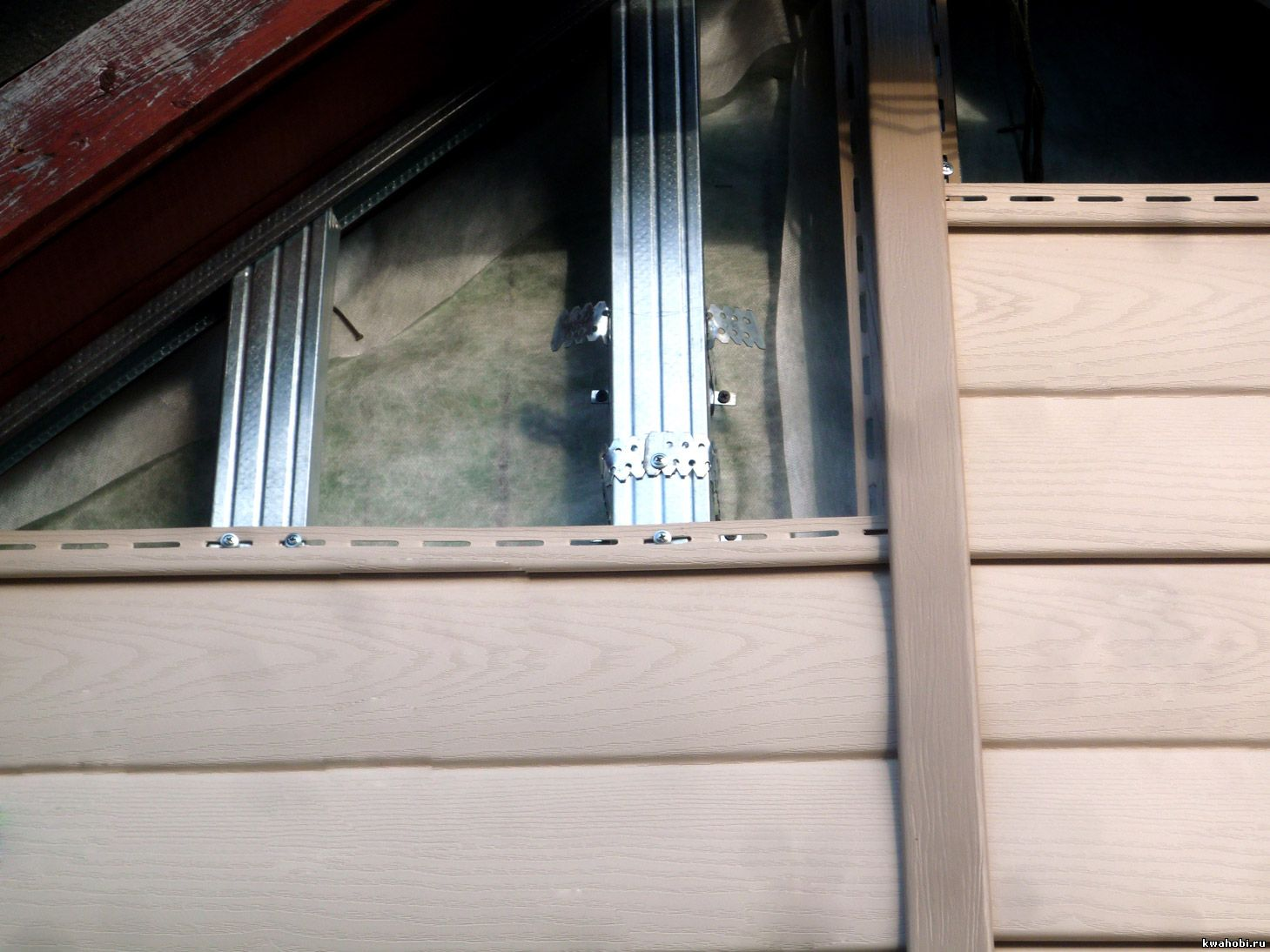 Обшивка дома сайдингом пошагово фото