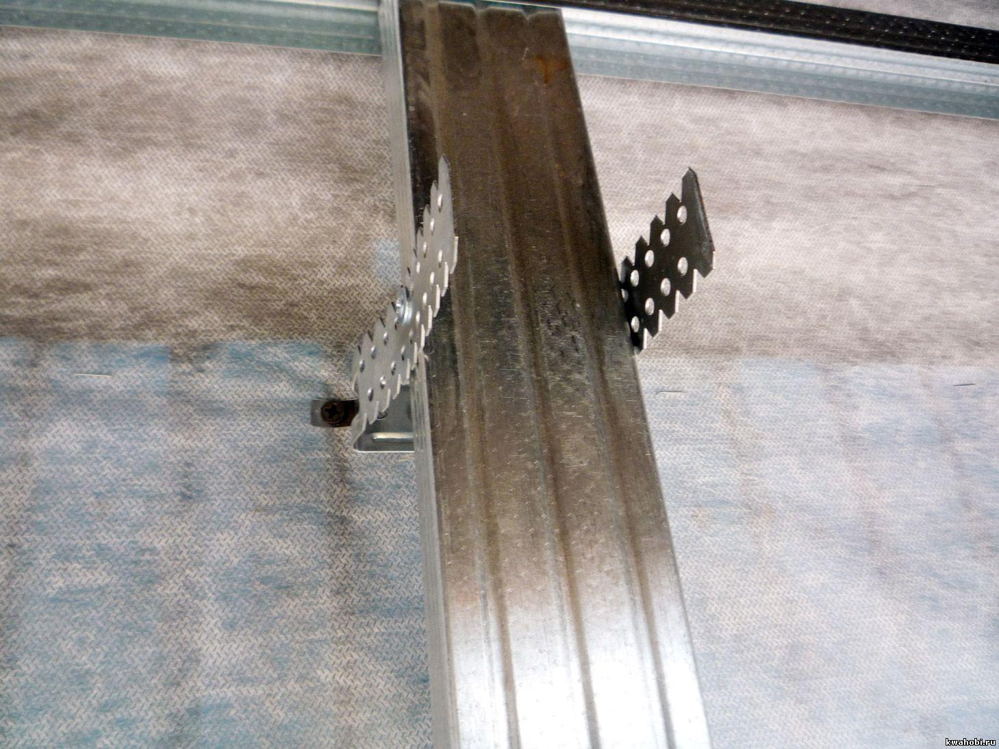 Как сделать металлический каркас для сайдинга