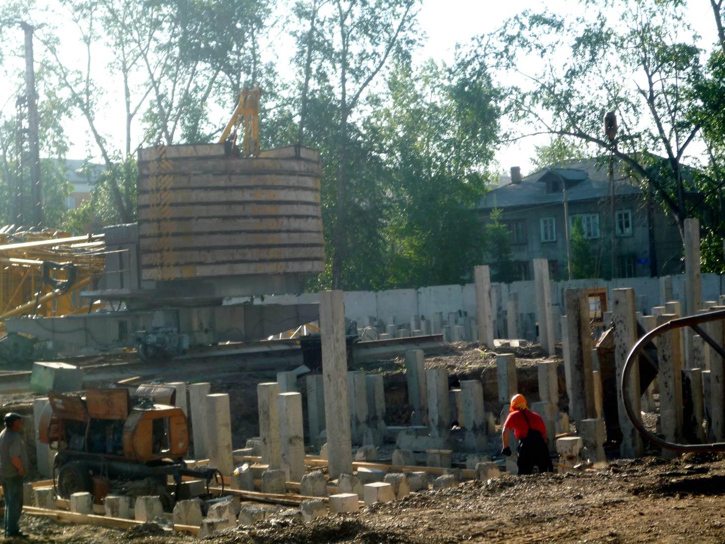 подготовка фундамента под многоэтажный жилой дом